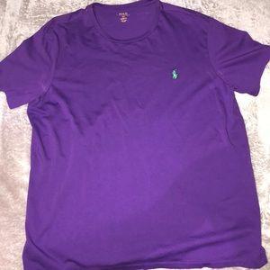 Polo Ralph Lauren Purple & Green Custom Fit SizeXL